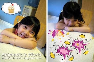 Keirra dreams of cake