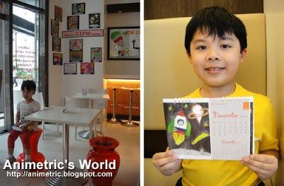 FIC calendar-drawing contest winner at FIC The Ice Cream Bar