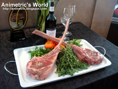 Tomahawk Chop at 22 Prime, Discovery Suites Ortigas