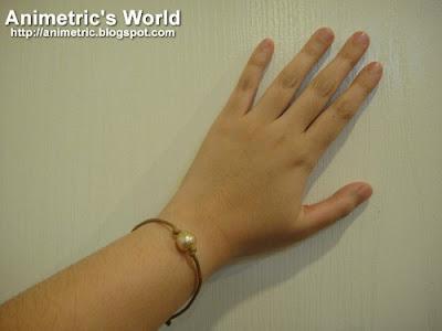 Wearing the Jewelmer Advocacy Bracelet