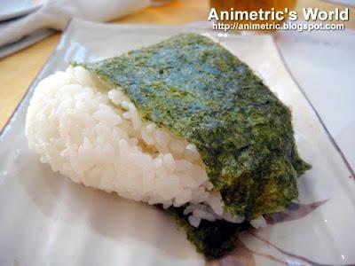 Salmon Onigiri at Hana, Little Tokyo