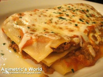Italianni's Philippines Menu