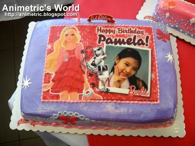 Barbie photo cakes from Red Ribbon