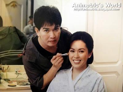 Animetric wedding make-up by Fanny Serrano