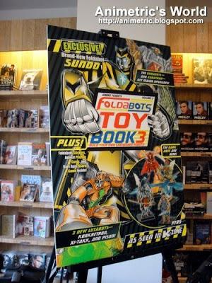 Foldabots Toy Book 3 as seen in K-Zone Magazine