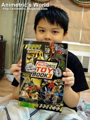 K-Zone Foldabots Toy Book 3