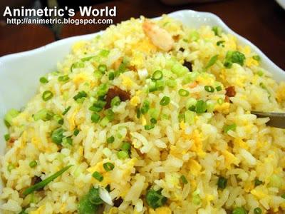 Yang Chow Fried Rice at Lutong Macau