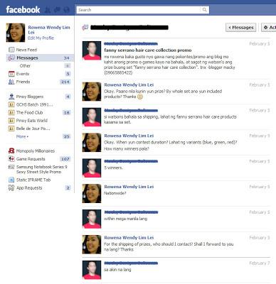 Facebook Chat Screencap