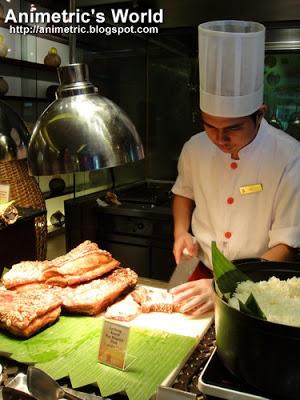 Heat Lunch Buffet Edsa Shangri-la Hotel