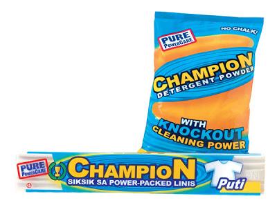 Champion Detergent Bar and Powder