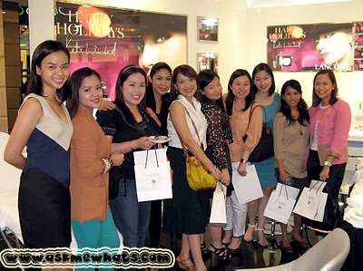 Lancome bloggers at Greenbelt 5