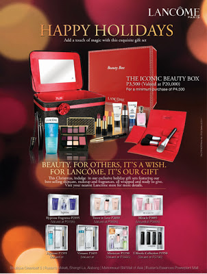 Lancome's Iconic Beauty Box