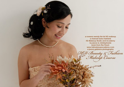 Bridal look by Rowena Wendy Lei