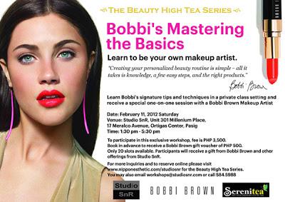 Studio SnR x Bobbi Brown Mastering the Basics Makeup Workshop!
