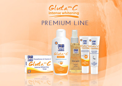 Gluta-C Intense Whitening products