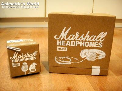 Marshall Major and Minor Headphones