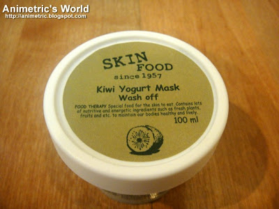 Skin Food Kiwi Yogurt Mask review