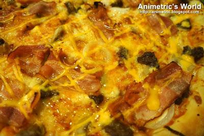 Greenwich Cheesy Bacon Burger Overload Pizza