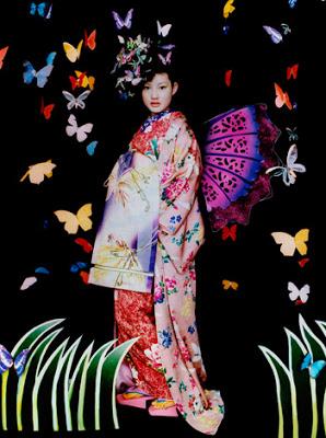 Kimono by Mamechiyo