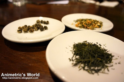 Teas at Kuppa Roastery and Cafe