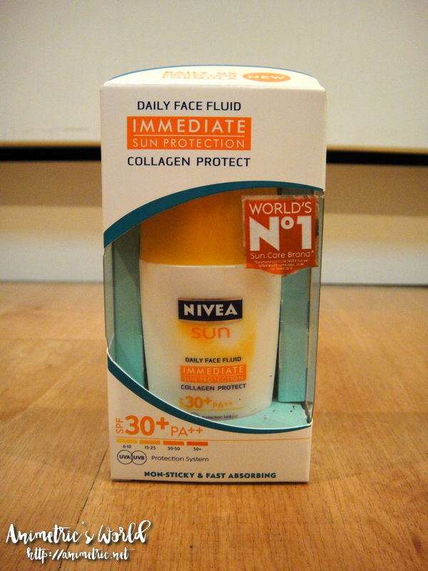 Nivea Sun Daily Face Fluid Collagen Protect