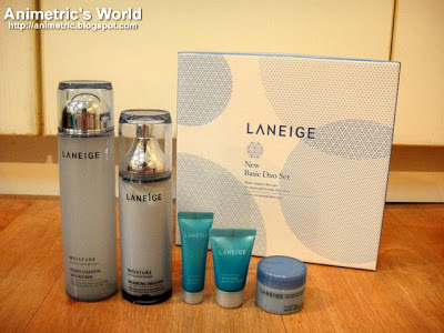Laneige skin care products