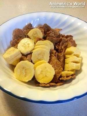 Nestle Fitnesse with Banana