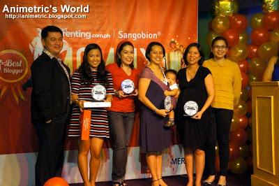 Sangobion Mommy Blogger Awards