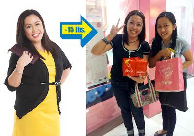 Animetric's 15 lb difference