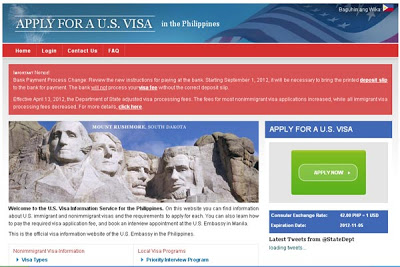 US Embassy Website