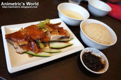 Hainanese Chicken Personal Set at Wee Nam kee in Serendra