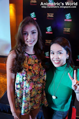 Solenn Heussaff and Animetric at the Greenwich party
