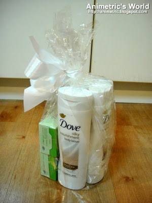 Dove gift pack