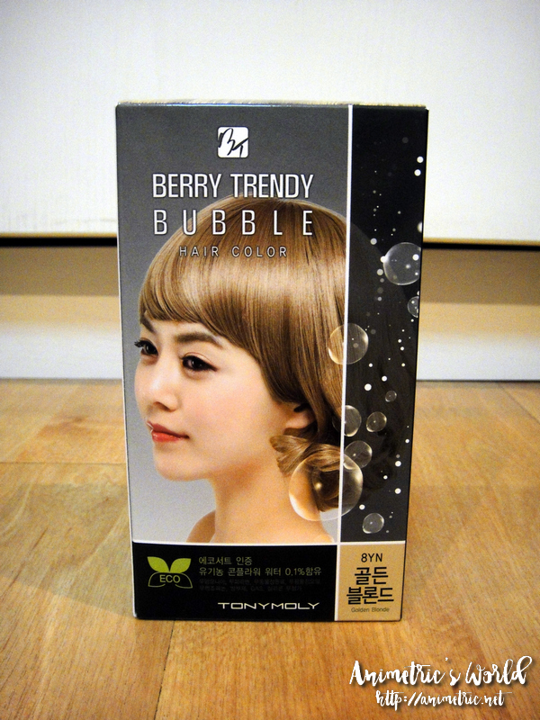 Tonymoly Berry Trendy Bubble Hair Color
