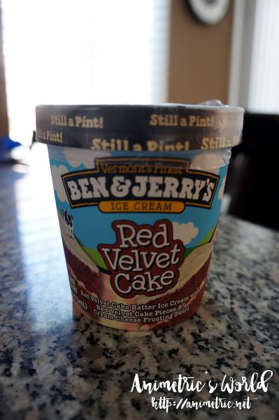 Ben And Jerry S Red Velvet Cake Ice Cream