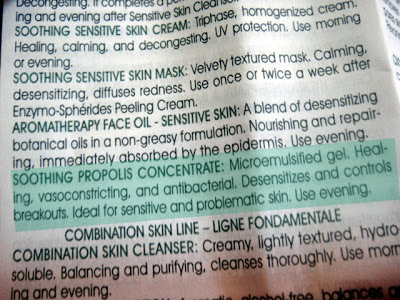 Pevonia Botanica Soothing Propolis Concentrate