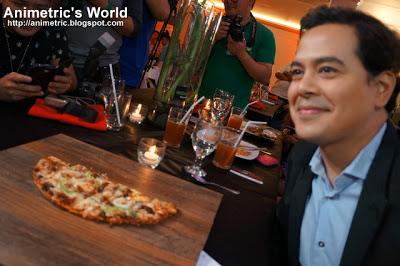 John Lloyd Cruz Greenwich Pizza Thins
