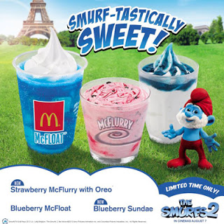 McDonald's Smurfs 2 Happy Meal