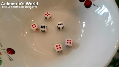 Mooncake Dice Game