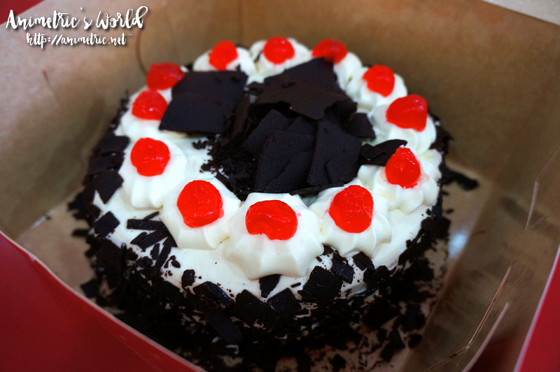 Red Ribbon Black Forest Cake