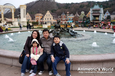 Everland Resort in South Korea