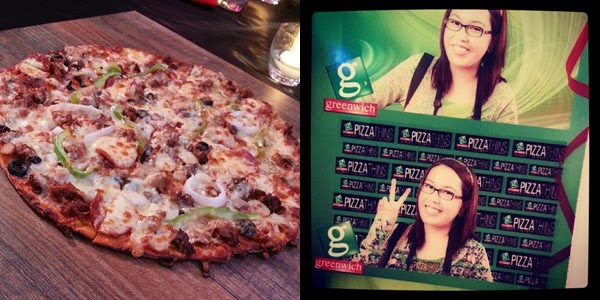 Greenwich Pizza GCs