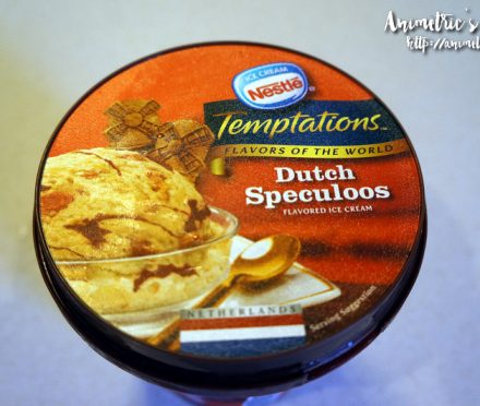 Nestle Tempations Dutch Speculoos Ice Cream