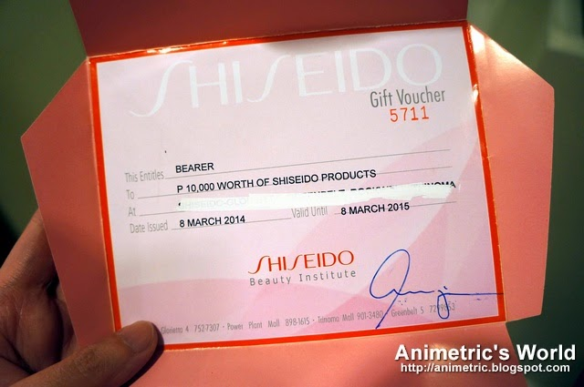 Shiseido Spring Summer 2014