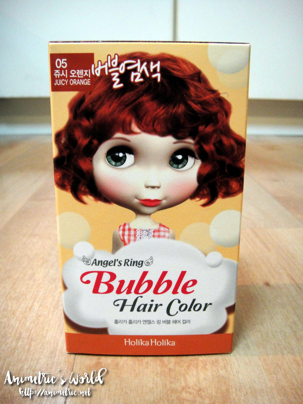 Holika Holika Angels Ring Bubble Hair Color