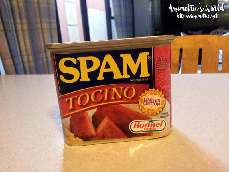 SPAM Tocino
