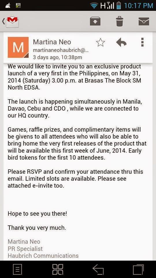 Fake invitations and fake events