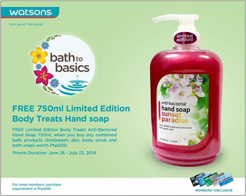 Watsons Bath to Basics
