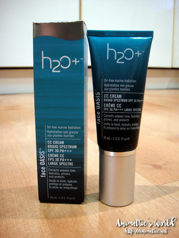 H2O Face Oasis CC Cream