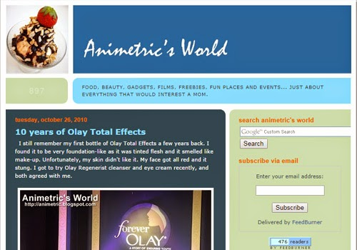 Animetric's World 2010